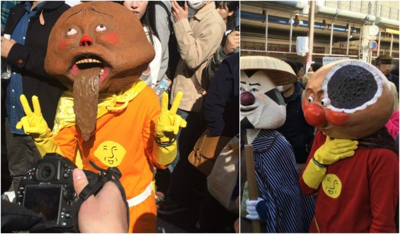 Much-loved Japanese children's characters come to life in horrific fashion at Street Fest