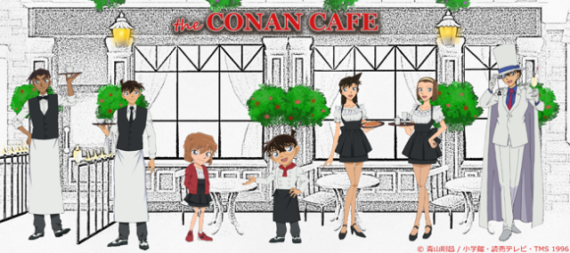 Detective CONAN Café has the (Miranda) rights to bring you delicious food