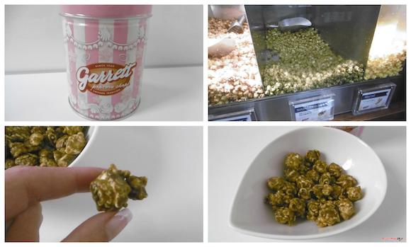 Matcha-flavored Garrett Popcorn, here we come!【Taste Test】