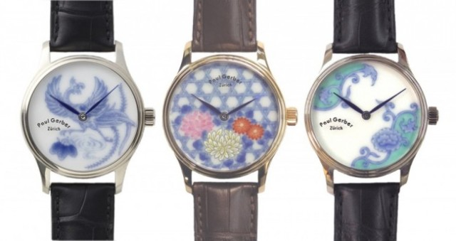 Gorgeous Paul Gerber/Arita-yaki pottery watches will catch eyes, leave you seriously broke