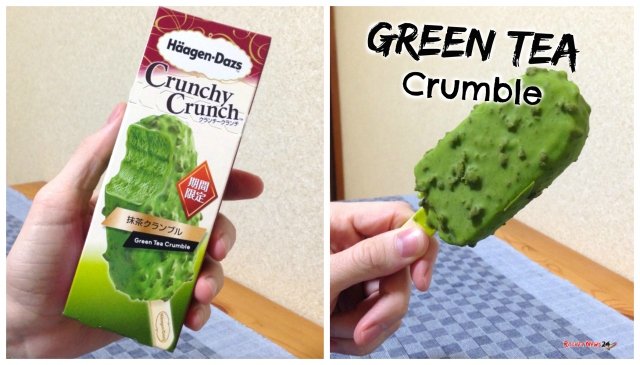 Does Häagen-Dazs' Matcha Green Tea Crumble deliver on its high-class name's promise? 【Taste test】