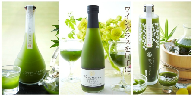 Kyoto tea store collaborates with local winemaker to create deliciously green matcha white wine
