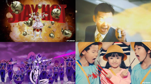 This compilation of Japan's best 2015 commercials is most insanity per second we've seen 【Video】
