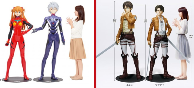 12 must-have life-size anime figures to complete any otaku's collection