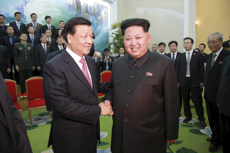 kim jong un china diplomats meeting