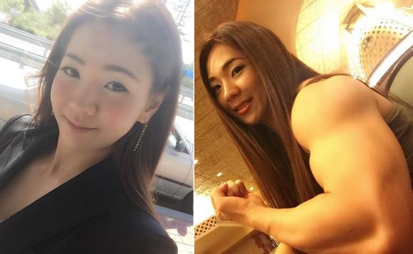 korean bodybuilder top