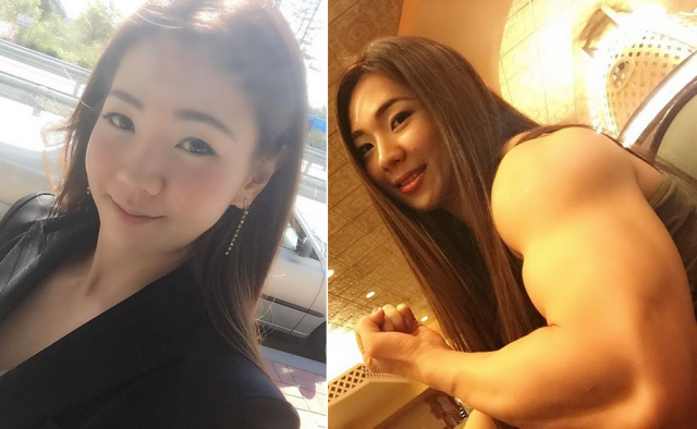 Korean bodybuilder Jhi Yeon-woo breaks hearts and beauty standards… with just one finger【Pics】