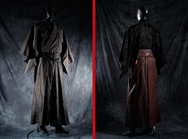 Japanese brand's leather hakama will satisfy your samurai and fashionista urges all at once