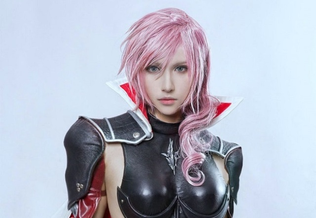 Final Fantasy XIII screenshot or cosplay? We're still not sure! 【Photos】