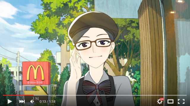 Anime McDonald's looks like an awesome place to work part-time 【Video】