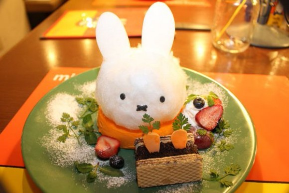 Dutch bunny fun as Miffy theme cafe in Tokyo is now open!