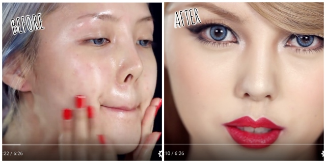 Korean makeup artist transforms herself into Taylor Swift in mind-blowing makeup tutorial 【Video】