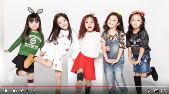 China's Mini Girls might just be the world's youngest idol group【Video】