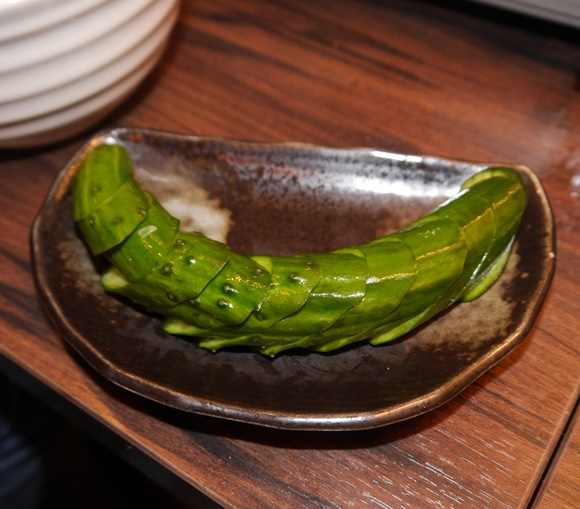 "Our Japanese team discover ""the most delicious way in the universe"" to eat cucumber"