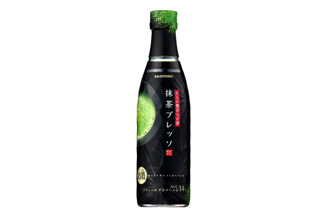 Green tea continues to go alcoholic with new matcha liqueur from Suntory
