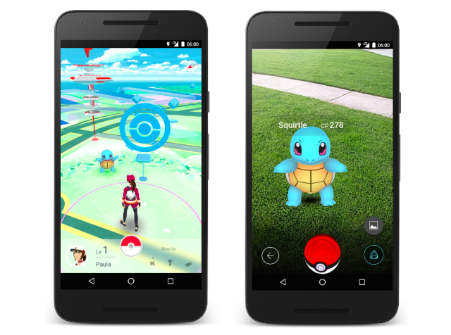 Here's how the awesome new Pokémon GO mobile game will look on your smartphone