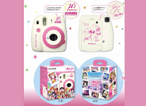 Love Live! instant cameras and film help you capture the moment with cuteness