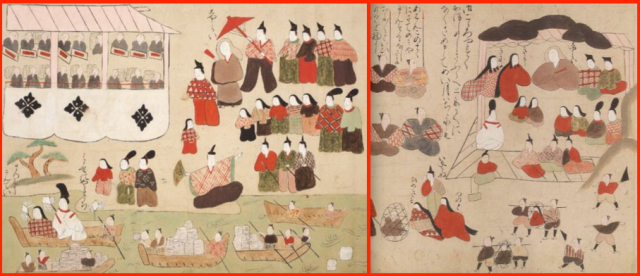 Picture scrolls reveal chibi-fied art of horrific event from over four centuries ago
