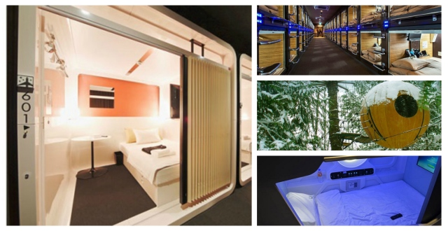Seven capsule hotels in Japan and around the world【Photos】