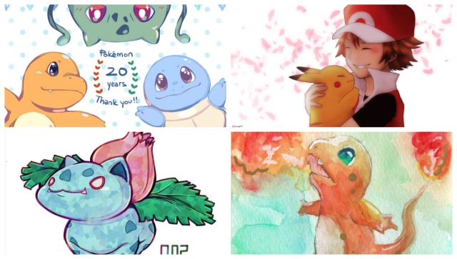 """The best, most adorable """"Pokémon 20th anniversary"""" artwork shared online by fans"""