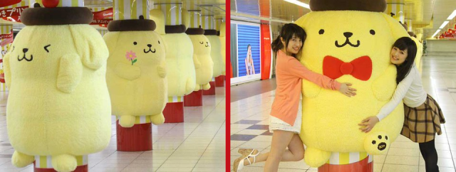 Awesome huggable Sanrio ad in Tokyo makes us wish all marketing was stuffed animal-based【Pics】