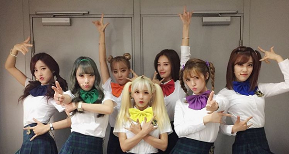 Korean girls group channels inner Sailor Senshi for the perfect moon-powered photo