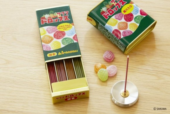 Candy-scented incense sticks smell sweet, probably taste like burning