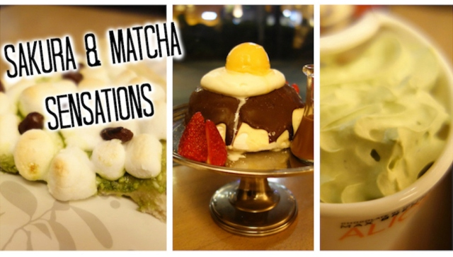 Chocolatier Max Brenner welcomes spring with pavlova, cherry blossom & delicious green tea pizza