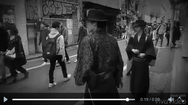 Modern-day samurai patrolling Tokyo's streets to fight against the evils of littering 【Video】