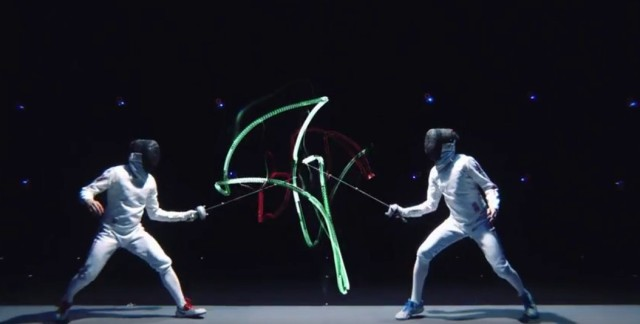 Video explores fencing strikes and rules, looks super badass 【Video】