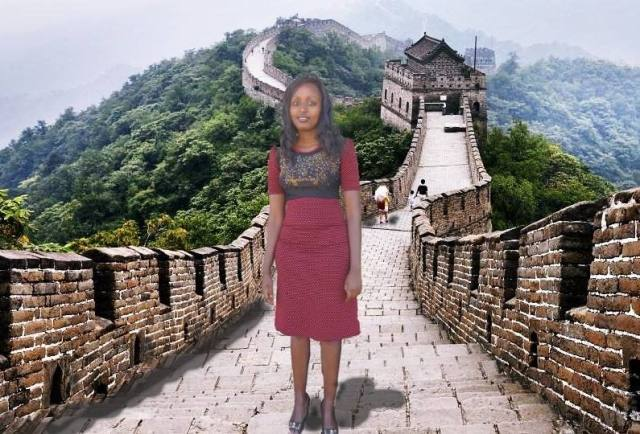 Kenyan woman Photoshops herself into photos from China, ends up getting a free trip there