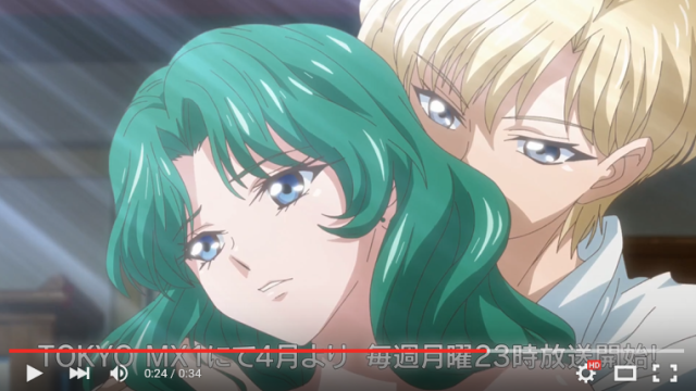 Preview video released for third season of Sailor Moon Crystal 【Video】