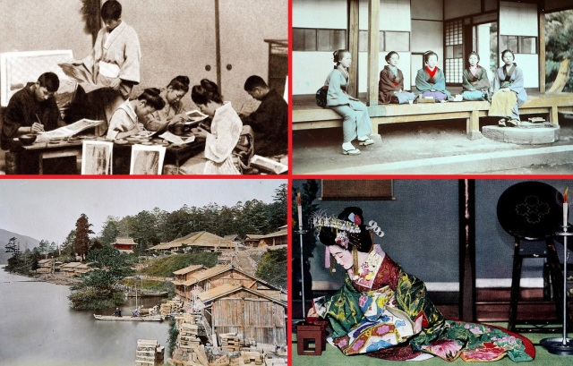 Here are 11 more colored photographs from Meiji-era Japan, plus the artists who colored them