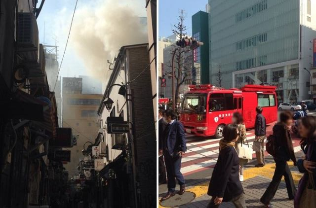 Here's why some are speculating yesterday's Golden Gai fire was connected to the Olympics