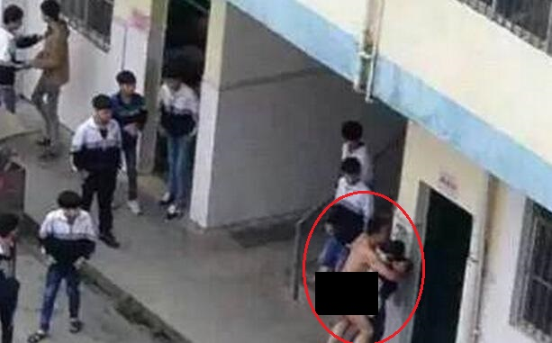 School of hard knocks? Female student is attacked on campus by a teacher in the nude