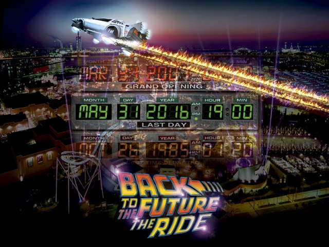 Universal Studios Japan to close Back to the Future ride, sell off DeLorean and props
