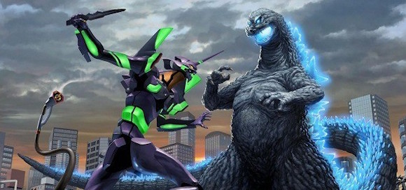 Godzilla vs. Evangelion continues with art by kaiju designer Yuji Kaida