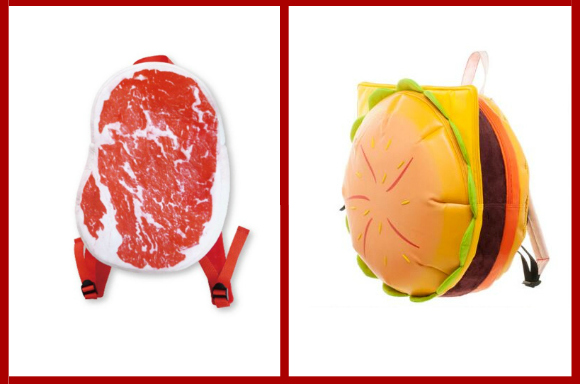 Beefy backpacks are the perfect fashion statement for any meat-loving traveler