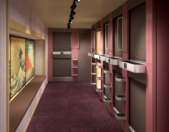 New Shibuya capsule hotel targets women visiting from overseas with gorgeous bath and more
