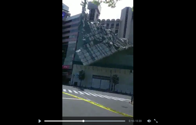 Violent winds pound Tokyo, topple mid-construction nine-story building 【Video】
