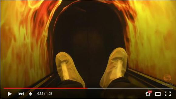 """The ride of a lifetime? China's """"death simulator"""" lets you experience being cremated【Video】"""