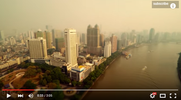 Take in the enormity of China with video series that makes it look like a tiny toy【Video】