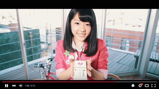 You can buy batteries that have been specially charged for you by idols on a bike 【Video】