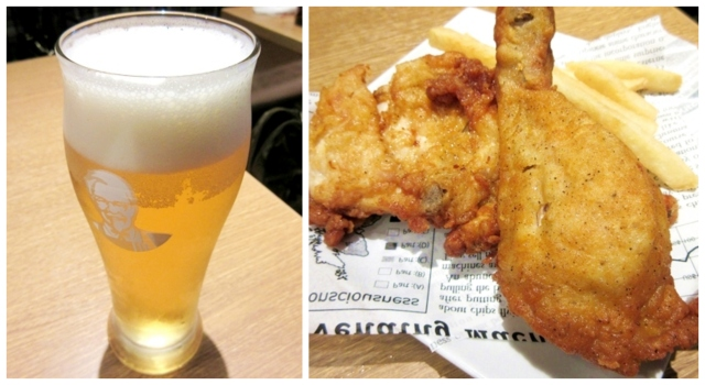 Tokyo KFC now serves alcohol with its fried chicken, including Japanese craft beers