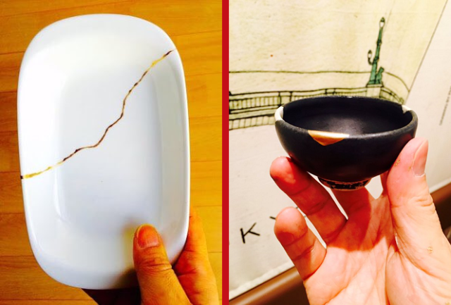 Volunteer craftsman traveling to Kumamoto to repair earthquake-damaged family heirloom ceramics