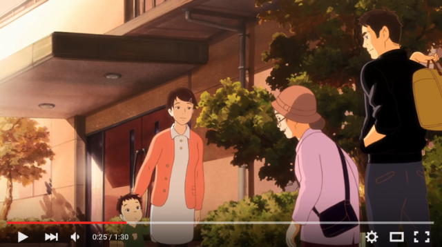 Beautiful, heartwarming anime short is also a commercial for miso 【Video】