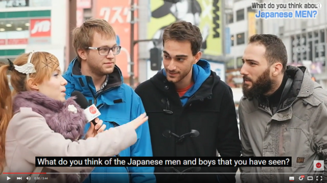 Foreign tourists share their impressions of Japanese men【Video】