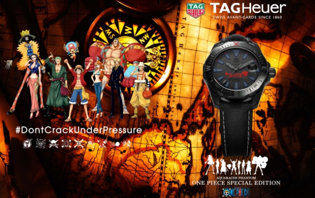 High-class One Piece timepiece is perfect for punctual pirates who love anime