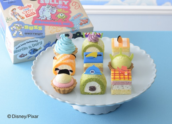 Pixar character pastries from Ginza Cozy Corner are just as awesome as the films themselves