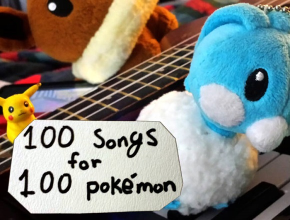 Gotta sing 'em all: Devoted Pokémon fan makes personalized songs for 100 different Pokémon